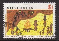 Australia SG1452 1994 Year of the Family $1 good/fine used